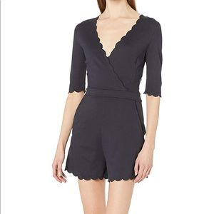 Brand new French connection scalloped romper.